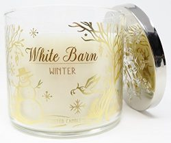 White Barn Candle 3 Wick 14.5 Ounce LE 2017 Scent Winter