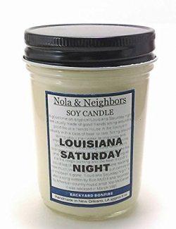 Campfire Candle – Bonfire Candle – Firewood Candle – Louisiana Saturday Night  ...
