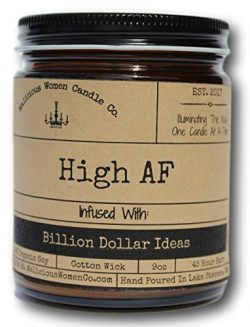 Malicious Women Candle Co – High AF, Exotic Hemp (Cannabis Flower & Patchouli) Infused ...