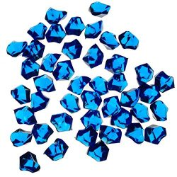 Ben Collection Acrylic Ice Rocks 1 Pack Multi Color (Cobalt Blue)