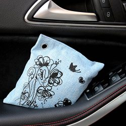 Le Temps Serein Bamboo Charcoal Bag Natural Car Air Purifier Odor Eliminator Absorber Fragrance  ...