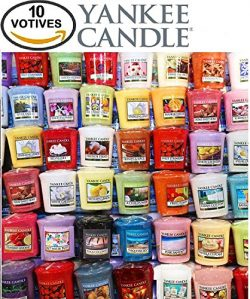 Yankee Candle Votives – Grab Bag of 10 Assorted Yankee Candle Votive Candles (10 Ct Fresh  ...