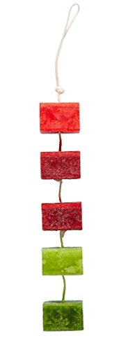 Deco Flair Cor Holiday Cranberry Spice Rope Scented Candles