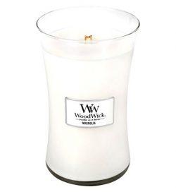 MAGNOLIA WoodWick 22 oz Large Hourglass Jar Candle Burns 180 Hours