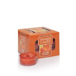 Yankee Candle Autumn Leaves Tea Light Candles, Fresh Scent