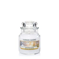Yankee Candle Small Jar Candle, Winter Glow by Yankee Candle