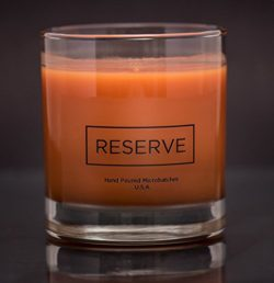 Man Cave Candle in Reusable 8 oz Whiskey Glass – Scented with Masculine Acqua di Gio Fragr ...