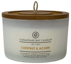 Chesapeake Bay Candle Heritage Collection Coffee Table Jar Scented Candle, Chestnut & Acorn