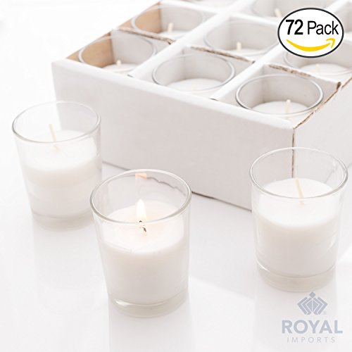 Royal Imports Candle Holder Glass Votive for Wedding, Birthday, Holiday & Home Decoration by ...