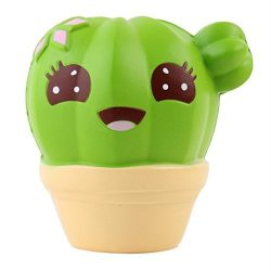 E-SCENERY Jumbo Cactus Squishy Toys, Squishies Stress Toys Squishy Kawaii Squishy Stress Relieve ...