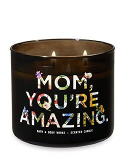"Bath & Body Works ""Mom You're Amazing"" 3-Wick Candle in Endless Weekend Scent"