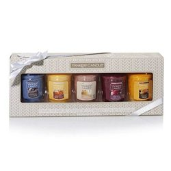 Yankee Candle New Fall Fragrances Votive Samplers Collection Gift Set