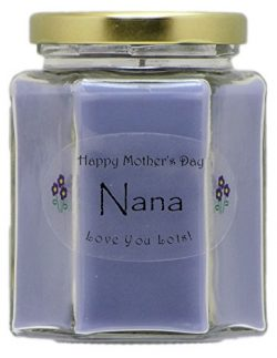 Just Makes Scents Nana Mothers Day Candle – Lavender Scented Mothers Day Gift Candle ̵ ...