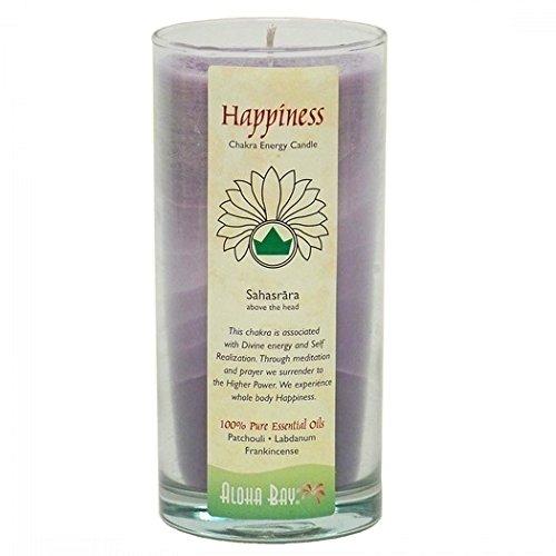 Aloha Bay Chakra Candle Jar, Happiness