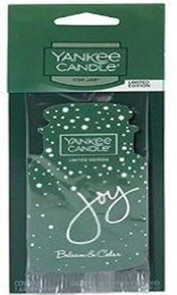 Yankee Candle Classic Car Jar Air Freshener (Balsam & Cedar)