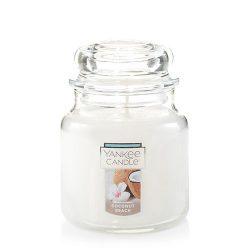 Yankee Candle Medium Jar Candle, Coconut Beach