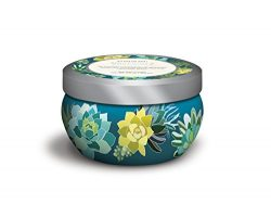 Studio Oh! Travel Tin Hand-Poured Scented Candle Available in 6 Fragrances, Spearmint & Cham ...