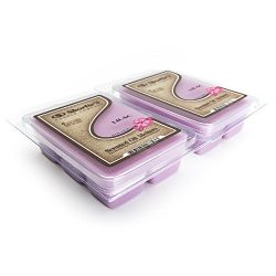 Pure Lilac Wax Melts 2 Pack – Highly Scented – Similar to Yankee Candle Tarts or Sce ...