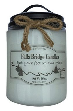 Country Spice, 22 oz. Scented Jar Candle, Soy Blend, Falls Bridge Candles