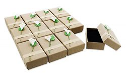 12-Piece Gift Box Set – Lily Jewelry Box for Anniversaries, Weddings, Birthdays – 3.5 x 1 x 2.2  ...