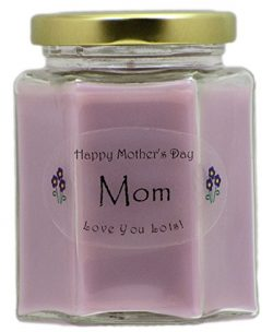 Just Makes Scents Mom Mothers Day Candle – Lilac Scented Mothers Day Gift Candle – H ...