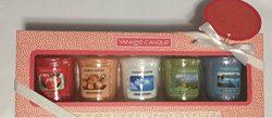 Yankee Candle New Spring Fragrances Five Votive Samplers Gift Set