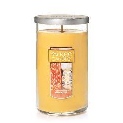 Yankee Candle Medium Perfect Pillar Candle, Harvest