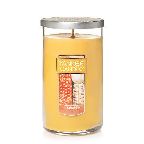 Yankee Candle Medium Perfect Pillar Candle, Harvest