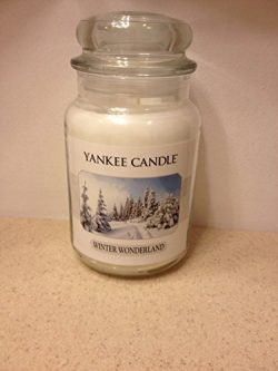 Yankee Candle, Large 22-oz. Jar Candle, Winter Wonderland