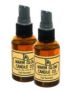 Warm Glow Candle Company Fall Harvest 2 oz Atomizer Oil (2 Pack)