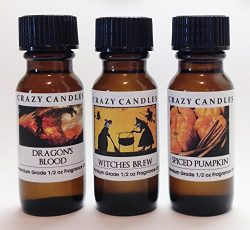 3 Bottles Set (Halloween Collection), 1 Dragon's Blood, 1 Witches Brew, 1 Spiced Pumpkin 1 ...