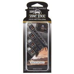 Yankee Candle Car Vent Stick, Black Coconut
