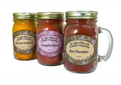 Our Own Candle Company Harvest Festival, Pumpkin Spice, and Hot Chocolate – Autumn Variety ...