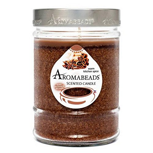 Aromabeads Warm Kitchen Spice Scented Canister Candle