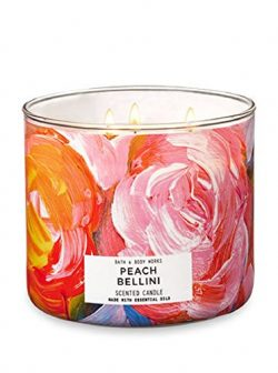 Bath & Body Works 3-Wick Candle in Peach Bellini
