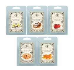 Secret and Scents Highly Scented Soy Wax Melts – 5 Assorted Wax Tart Cubes Variety Packs ( ...