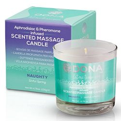 Dona Soy Massage Candle Naughty – Sinful Spring Net Wt 4.75 Oz / 135 G