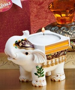 Good Luck Elephant Candle Holders – 24 count