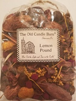 Lemon Pound Potpourri Large Bag – Perfect For Spring, Summer, Fall, and Winter Decoration  ...