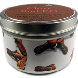 Clove Bud, Super Scented Soy Candle Tin (6oz)