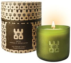 WOO Lucky Candle Collection | Handmade Large Eco Beeswax Aromatherapy Candle in Exquisite Gift B ...