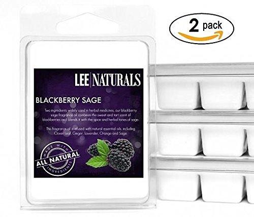 Lee Naturals Spring & Summer – (2 Pack) BLACKBERRY SAGE Premium All Natural 6-Piece So ...