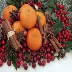 CHRISTMAS SPLENDOR FRAGRANCE OIL – 4 OZ – FOR CANDLE & SOAP MAKING BY VIRGINIA C ...