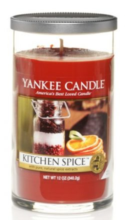 Yankee Candle Kitchen Spice Piller 12oz Candle