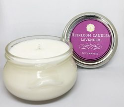 Lavender Soy Candle – Handmade in Glass Tureen, 6oz