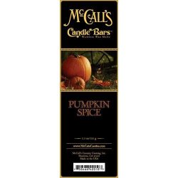 McCall's Country Candles Candle Bar 5.5 oz. – Pumpkin Spice