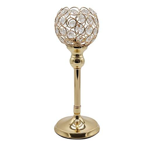 Joynest crystal candle holders coffee table decorative