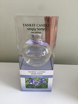 Yankee Candle Simply Home Reed Diffuser, Joyful Spring, 3 oz