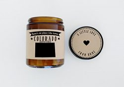 Colorado Scented Candle Missing Home Homesick Gift Moving Gift New Home No Place Like Home State ...