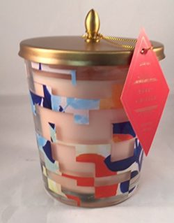 Illume Large Cameo Jar Candle 13.2oz/375g NEW 2017 Spring Collection (Sweet Hibiscus)